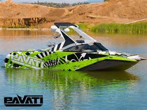 Wakeboardingmag features the al 24 wakeboard boat pavati