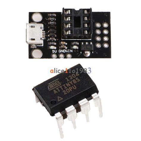Usb20 Usb 20 To Dip mini attiny85 micro usb development programmer board for tiny85 20pu dip 8 ic ebay