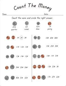 Best Sheets For The Money 17 Best Ideas About Money Worksheets On Pinterest