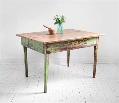 vintage wood farm dining table mid century modern rustic shabby chic mid century modern