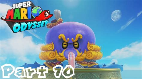 libro super mario odyssey kingdom super mario odyssey part 10 attack the octopus seaside kingdom youtube