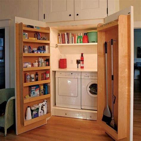 home storage solution clever laundry room storage solutions