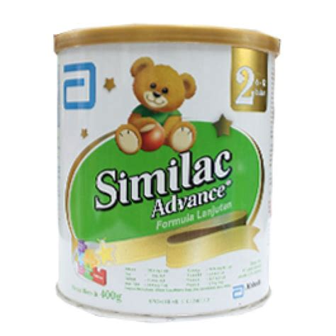 Abbott Similac Advance 2 850 Gr similac tahap 2 6 12 400g