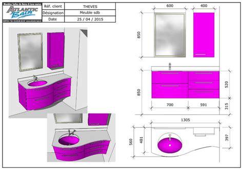 Charmant Miroir Armoire Salle De Bain #5: plan-3d-de-salle-de-bain-moderne.jpg