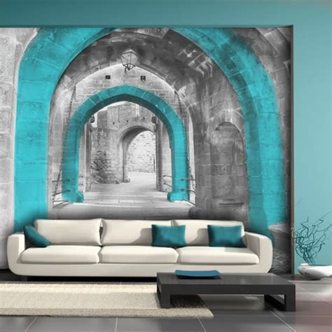 living room mural 15 refreshing wall mural ideas for your living room