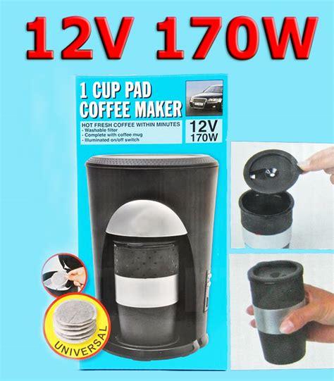 Auto Kaffeemaschine by Auto Kaffeemaschine 12v Cing Reise Pads Kaffeebecher