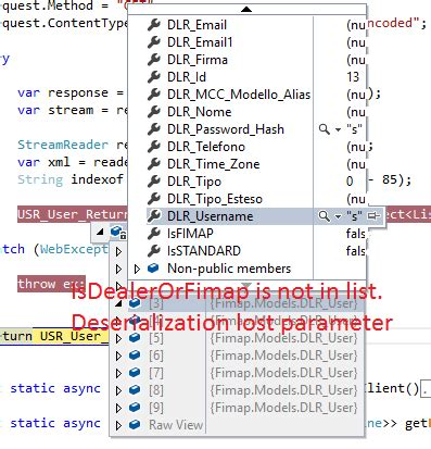 layout parameters cannot be null c loss of a parameter in deserialization with json