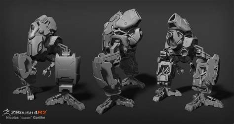 zbrush tutorial robot 17 best images about 3d on pinterest a sloth extinct