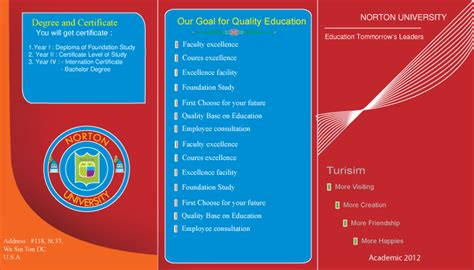 brochure design templates for education free brochure templates illustrator ai