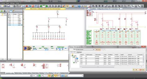 logiciel armoire electrique sch 233 ma unifilaire ftz