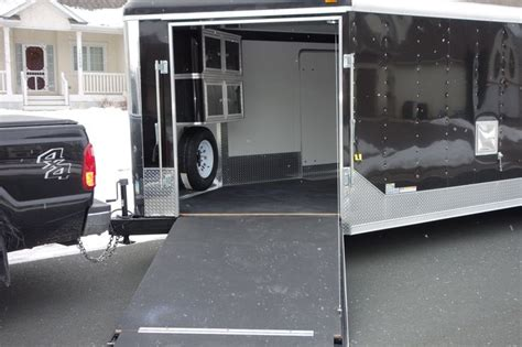 enclosed trailer cabinets accessories 1000 images about enclosed trailer interiors on