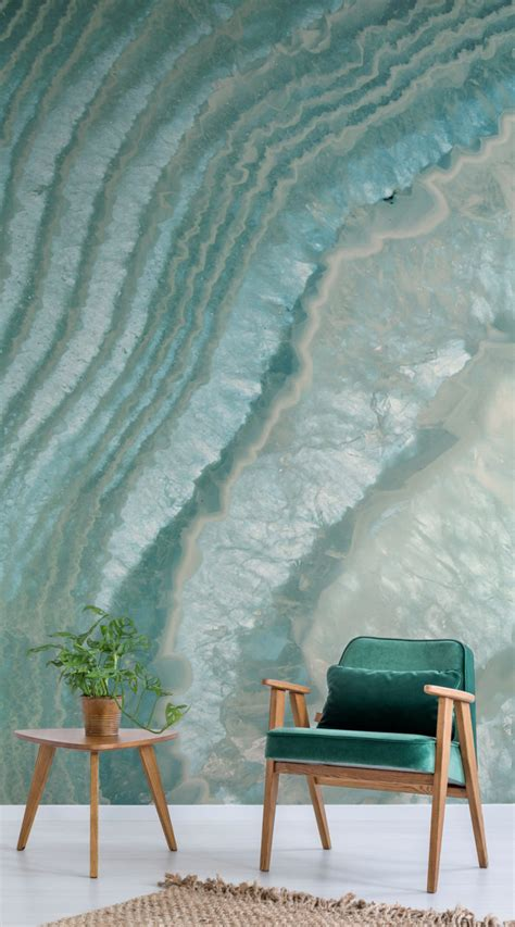 Celeste Agate Wall Mural Murals Wallpaper » Home Design 2017
