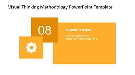 Visual Thinking Methodology Powerpoint Diagram Slidemodel Visual Diagram Template
