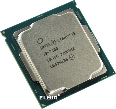 процессор s 1151 intel i3 7100 3 9ghz 3mb tray cm8067703014612 купить elmir цена