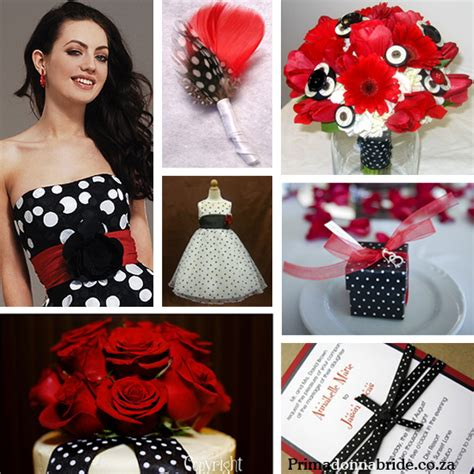 the northern polka dot wedding theme