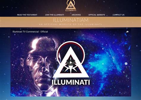 illuminati homepage illuminati goes with website illuminatiofficial