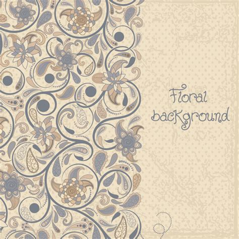 Floral Decorative floral decorative patterns