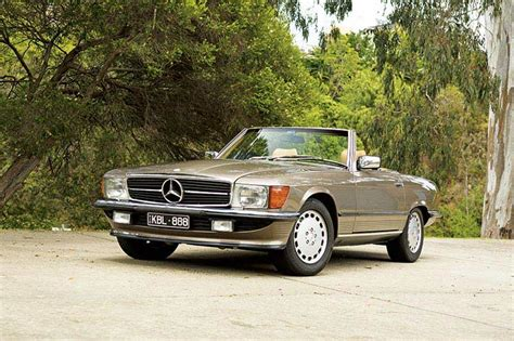 1986 mercedes 560sl review past blast