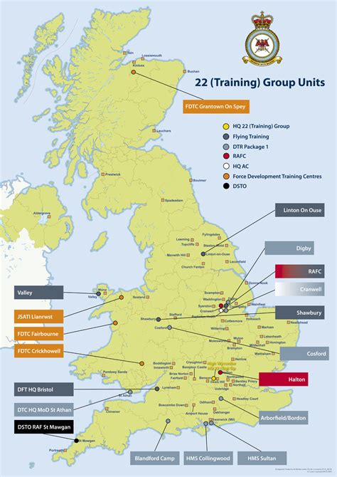 map us bases 2 raf stations in the uk map army rumour service