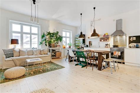 apartment with an eclectic interior design adorable