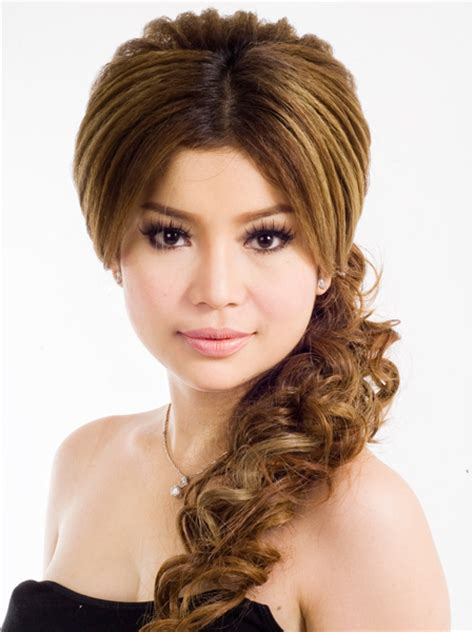 hair styles from singers khmer celebrities hair styles with kem liza jamtapler