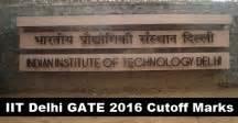 Iit Delhi Mba Cut 2016 by Gate 2016 Cutoff For Iit Delhi