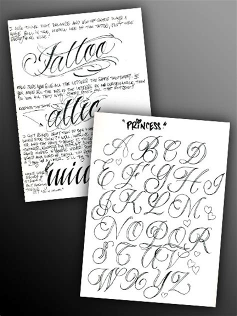 tattoo lettering guide pdf the bj betts lettering combo 5 pack tattoo education
