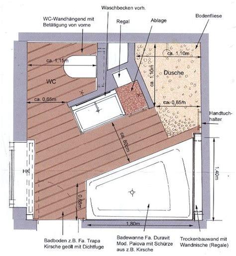 schlafzimmer 3x3 meter einrichten die besten 25 bad grundriss ideen auf