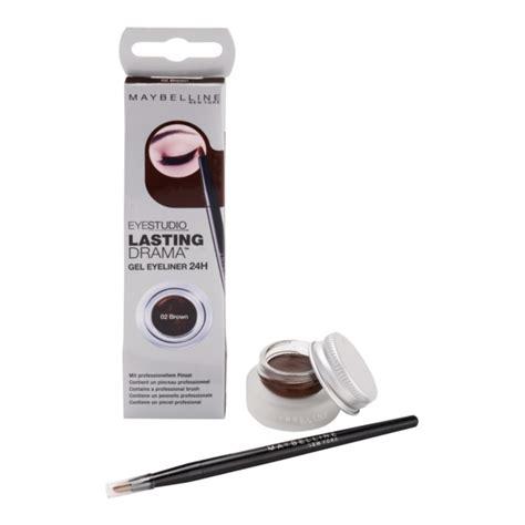 Maybelline Gel Liner Brown maybelline eyeliner lasting drama eyeliner gel aoro ro