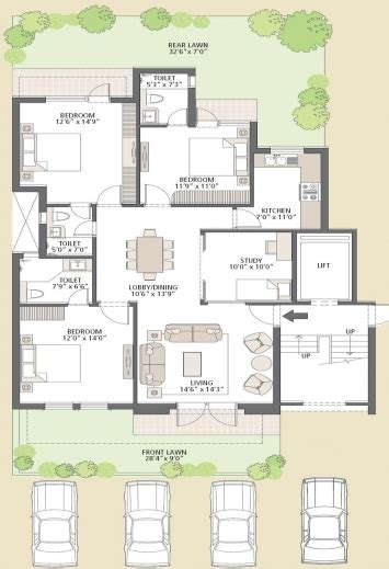 ground floor 3 bedroom plans 3 bedroom ground floor plan house plan ideas house