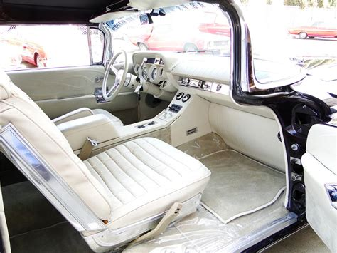 Interior Upholstery by 1959 Buick Electra 225 Custom Convertible 101605