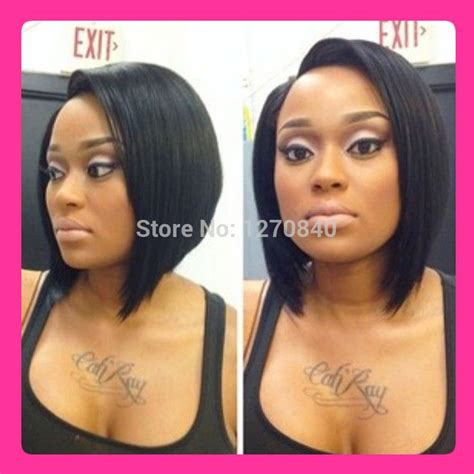short hairstyle with front lacr closer 46 best bob wig images on pinterest braids hair dos and