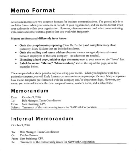 company memo template company memo template 10 free word pdf documents