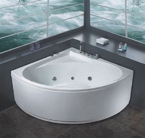 Home Tub Modern White Corner Bathtubs Bath Tub
