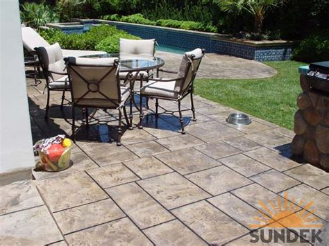 Patio Design Louisville Ky Concrete Patio Design Sundek Concrete Coatings And
