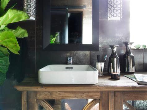 rustic modern bathroom vanities rustic bathroom vanities hgtv