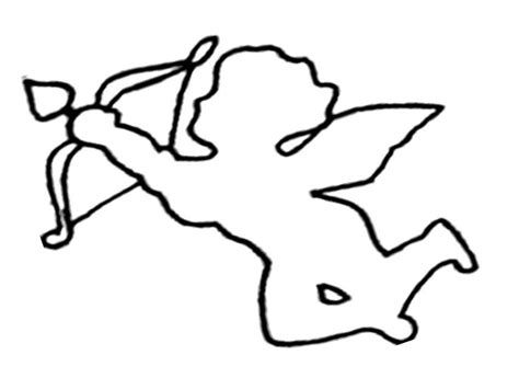 cupid coloring pages cupid coloring page coloring home