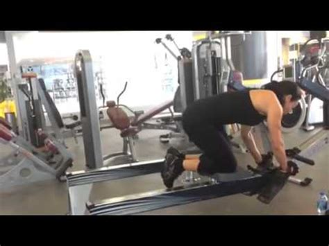 abs oblique cardio workout using the rowing machine