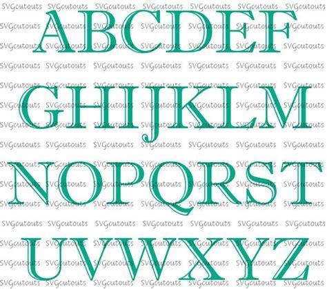 decorative block letters font the 29 best images about fonts by svg cutouts on pinterest