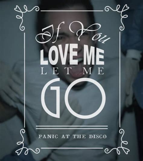 Panic At The Disco Cabin Songs by Panic At The Disco This Is Gospel Quot Quotes Quot