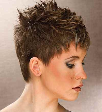 funky super short haircuts for heavy set women short spikey hairstyles for women over 40