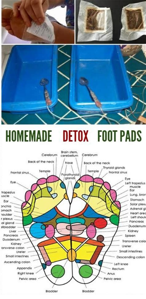 Diy Foot Detox At Home by Detox Foot Pads To Cleanse Popcane
