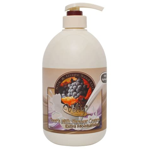 Velvy Goat S Milk S C Moist Silk Grape Seed 250ml Refill Velvy Goat S Milk S C Moist Silk Grape Seed