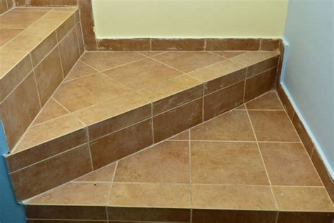 stair tiles how to tile stairs landing tiles and
