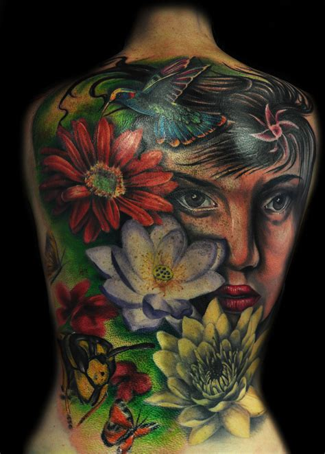 full back tattoos designs amazing back by max pniewski design of