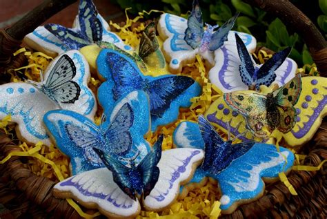 butterfly cookies decorated cookie of the month