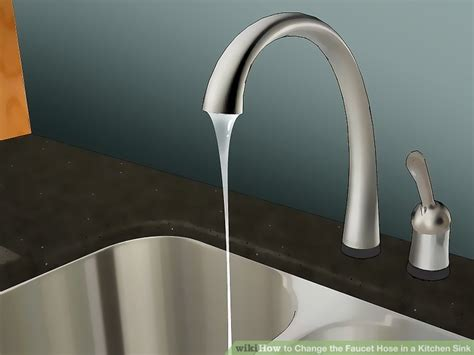 how to change kitchen sink faucet how to change the faucet hose in a kitchen sink with