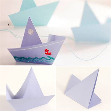 Origami Catamaran - take your child to work day activities
