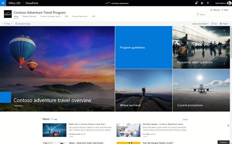 best news site sharepoint communication begin rollout to office