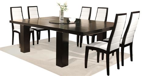 expanding square table sharelle furnishings modern furniture wholesale